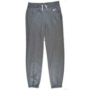 Nike Fleece Pants Loose Fit Grey
